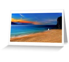 Just another day in paradise Greeting Card
