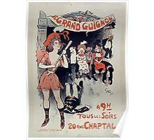 Jules Alexandre Grün Grand Guignol 1890 Poster
