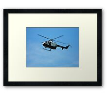 Kent Air Ambulance Framed Print