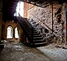 Crumbling Stairway by Rdemingphoto