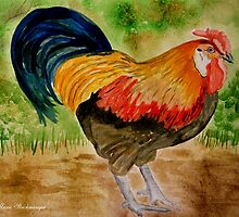Rooster Booster 2 by Marie Luise  Strohmenger