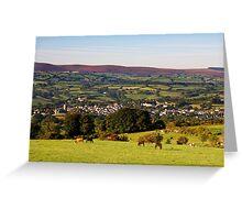 Moretonhampstead  Dartmoor  UK Greeting Card