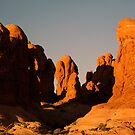Red Rock Uprise by Dawn Parker