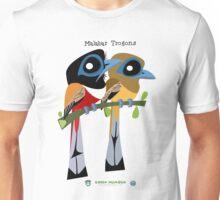 Malabar Trogon caricature Unisex T-Shirt