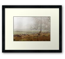 Who is this Intruder Framed Print