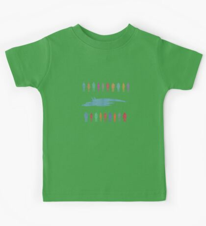 Normandy and the squad 2 Kids Tee