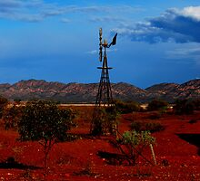 Red desert SA by Martin Dingli