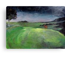 Golf Course at Dusk Canvas Print
