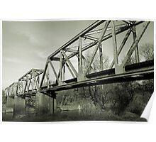 The Great Pee Dee River Train Bridge Poster