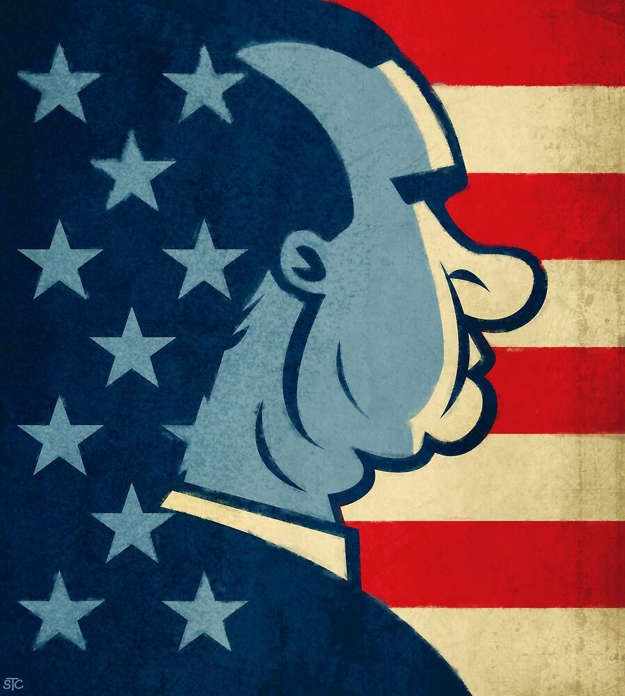 Richard Nixon by Sean Celaya