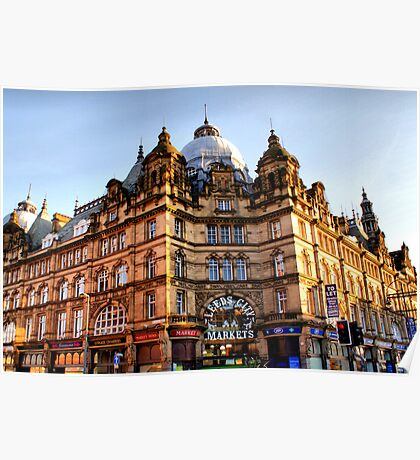 Leeds City Markets (Kirkgate) Poster