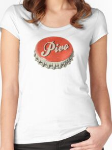 Pivo Women's Fitted Scoop T-Shirt