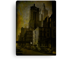 48th Street Canvas Print