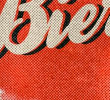 Bière Sticker