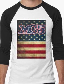 MC5 Flag Design Men's Baseball ¾ T-Shirt