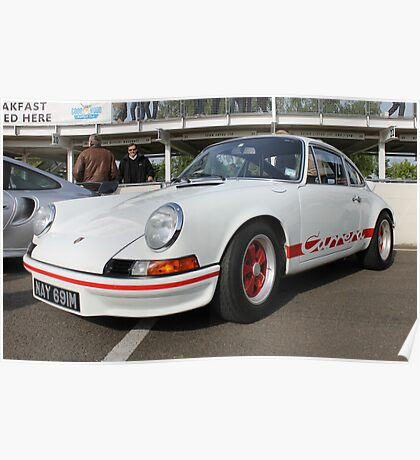 Porsche 911 Carrera RS Poster