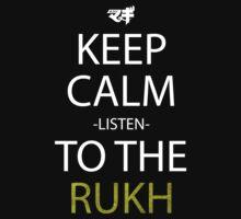magi keep calm listen to the rukh anime manga shirt by ToDum2Lov3