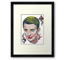 Captain Joker Framed Print