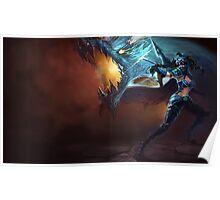 Dragonslayer Vayne - League of Legends Poster