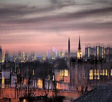 Dreamy City Skyline by Karen Martin IPA