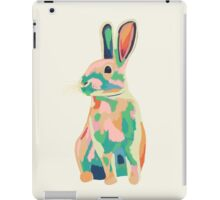 Colourful rabbit, bunny iPad Case/Skin