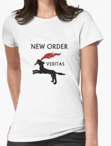 New Order- Veritas Womens Fitted T-Shirt
