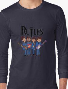 The Rutles Animated Cartoon Long Sleeve T-Shirt