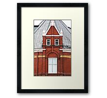 Façade...or Just FACE? Framed Print