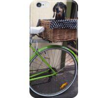 Poppie's Bike Ride iPhone Case/Skin