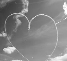 Plane Heart by kluck