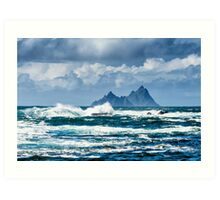 Skellig Micheal Art Print