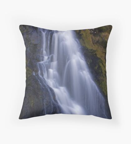 waterfall waterfall Throw Pillow