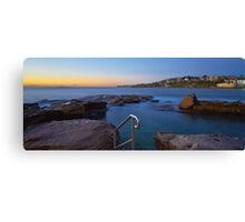 Giles Baths - Coogee NSW Canvas Print