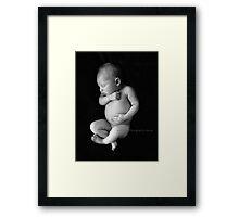 New born Framed Print