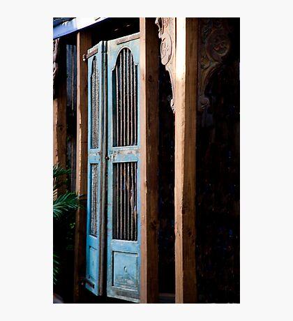Swinging Saloon Doors Photographic Print