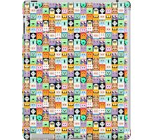 Adventure Time 8-bit Sprite Faces iPad Case/Skin