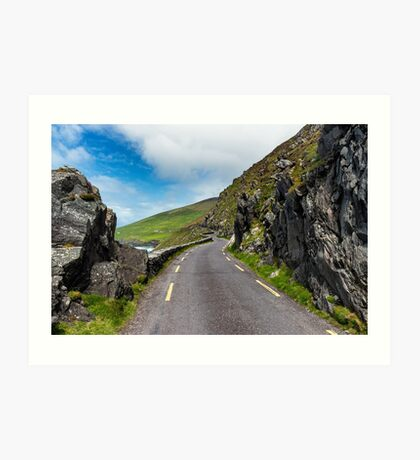 Slea Head drive Art Print