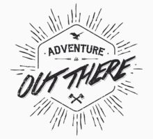 ADVENTURE IS OUT THERE black Kids Clothes