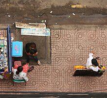 Street Vendors of Saigon by Timo Balk