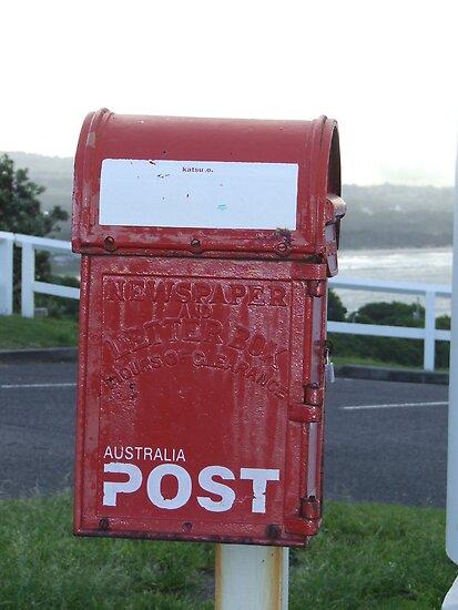 old school post box by mark thompson