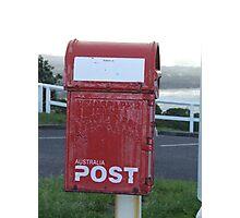 old school post box Photographic Print