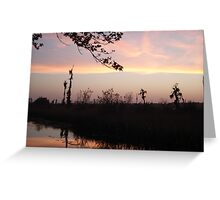 LEMON SLICE SUNSET Greeting Card