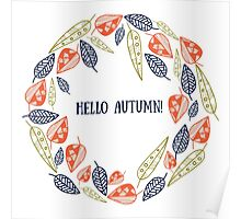 Hello, Autumn Poster