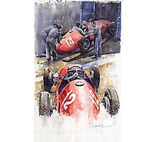 French GP 1952 Ferrari 500 F2 Photographic Print