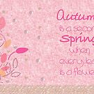 Autumn and Spring by behindsky