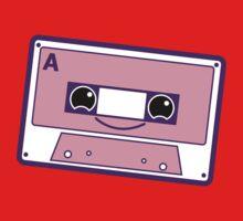 Smiling cassette tape  Kids Tee