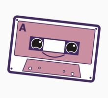 Smiling cassette tape  Baby Tee