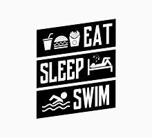 Eat sleep swim Unisex T-Shirt