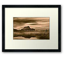 Black Sage (sepia) Framed Print