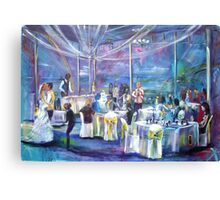 The Wedding of Thorne and Jessica Mt Ousley Canvas Print
